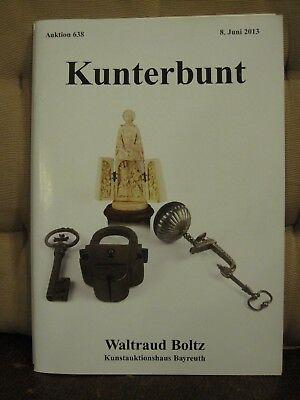 Auktion Katalog Von Waltraut Boltz , 08.06.2013 - Kunterbunt