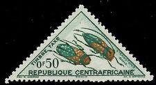 "CENTRAL AFRICAN REPUBLIC J2 (Mi P1) - ""Sternotomis"" Beetle (pf81230)"