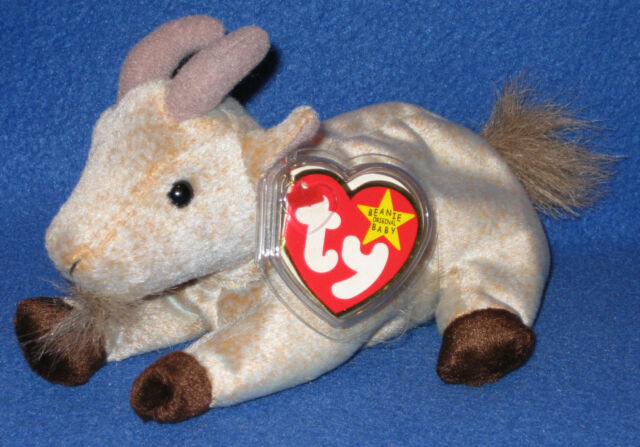 4b84a9820c8 TY GOATEE the GOAT BEANIE BABY - MINT with MINT TAG