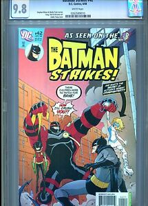 BATMAN-STRIKES-42-CGC-9-8-BANE-DC-COMICS-2008