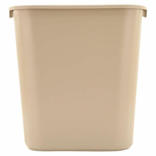 VARIOUS SIZES TRASH CAN Plastic Garbage Office WasteBasket bathroom Kitchen big