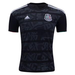 adidas-Kids-Mexico-19-20-Home-Jersey-Black-White-DP0208