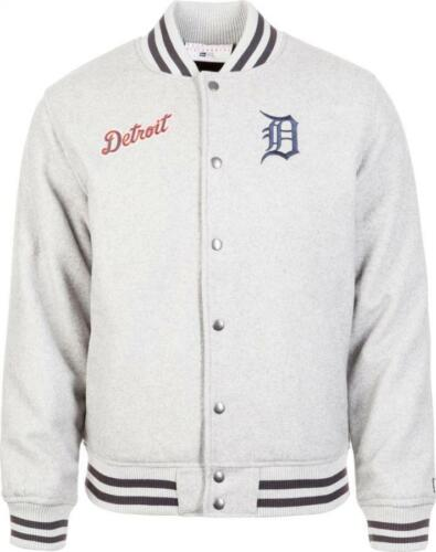 New era Detroit Tigers Team Apparel BOMBER CHAQUETA CAZADORA MLB Grey
