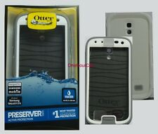 OTTERBOX Preserver Series Case for Samsung Galaxy S4 Glacier / White With Strap