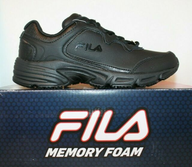 134ceeb6b8 FILA Women's Memory Fresh Start 2 Slip Resistant Work Shoe