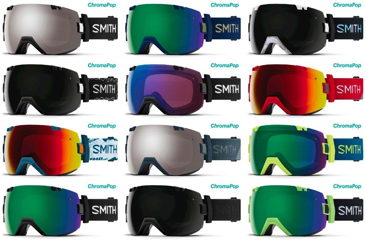 SMITH OPTICS I OX SKI SNOWBOARDBRILLE CHROMAPOP NEU
