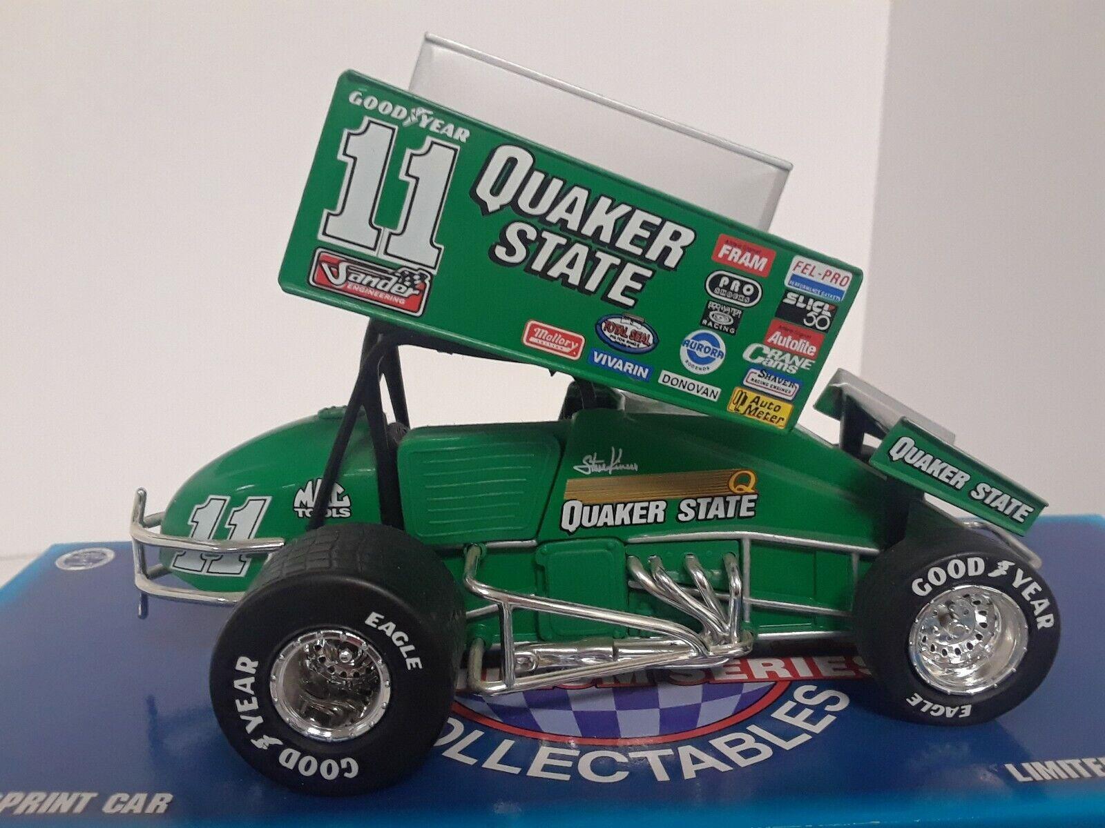 1 24 Steve Kinser  11 Sprint Car 1 of 5000 Quaker state