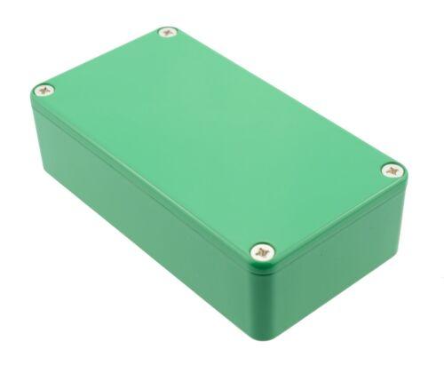 112 x 60 x 31mm 1590bgr Green Autentico Hammond pressofusione trigger Enclosure