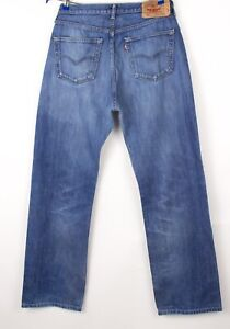 Levi's Strauss & Co Hommes 501 Jeans Jambe Droite Taille W36 L32 BCZ163
