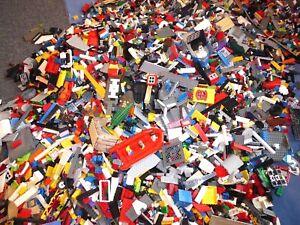 LEGO-1-KILO-kg-Konvolut-Kiloware-Steine-Sondersteine-Mischlego-Platten-Raeder