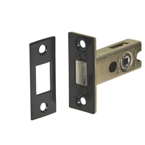 45mm Backset Matte Black Bathroom Deadbolt Lock 63mm
