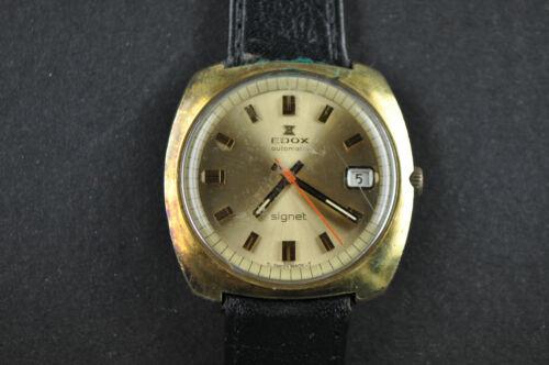 Hommes montre-bracelet EDOX automatic Marche, affichage des dates de remise