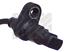 Raddrehzahl für Bremsanlage Hinterachse MAPCO 86669 Sensor