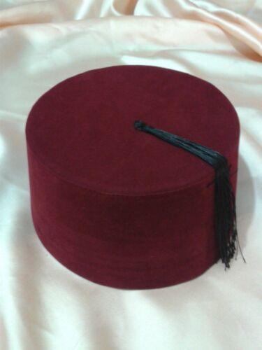 "Genuine /""Handmade/"",Turkish Ottoman  Adult Unisex Wear Unix Hat Fez Authentic Fes"
