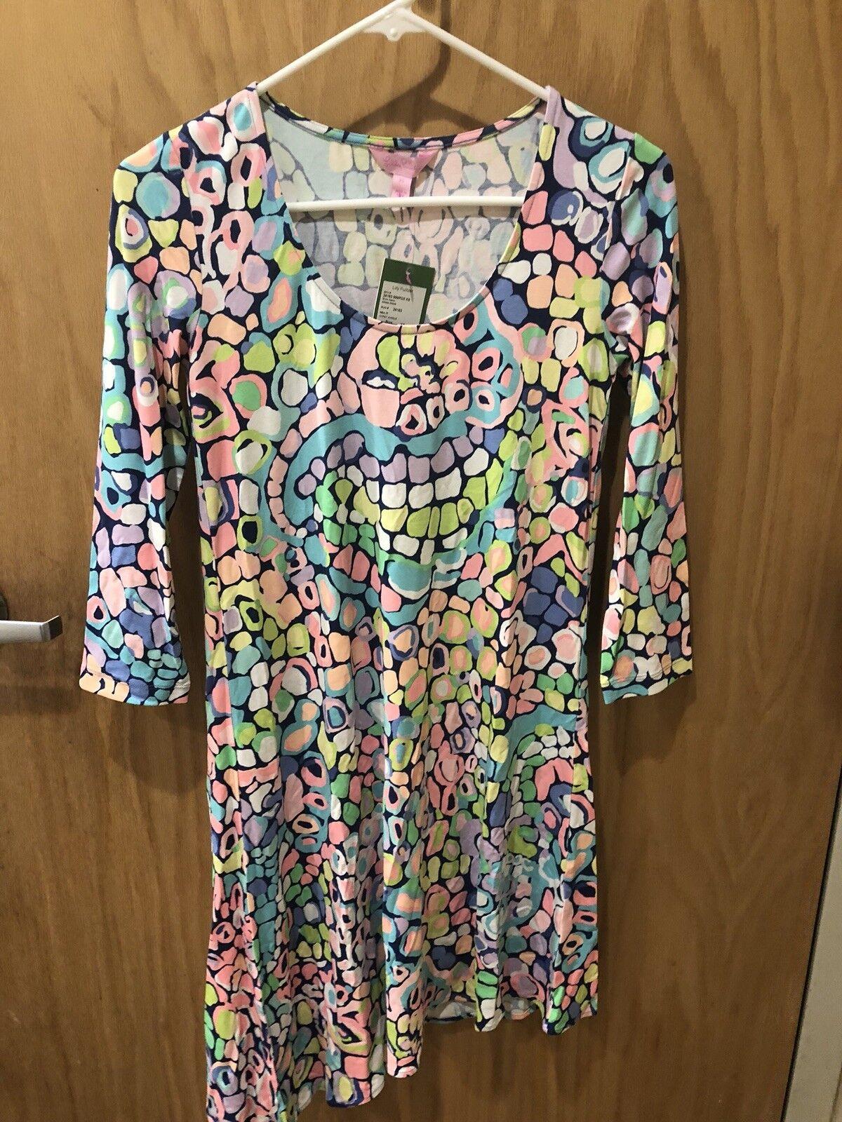 LILLY PULITZER Ariana Gypsy Jungle Print Swing Dress Größe XS NWT