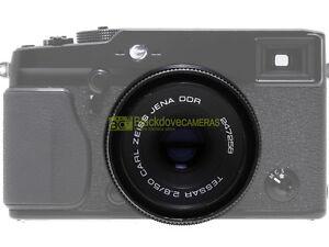Carl-Zeiss-Jena-obiettivo-Tessar-50mm-f2-8-con-innesto-Fuji-digital-75-2-8-eq