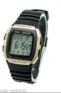 27182a3e Casio W96H-9A Mens 50M Sports Watch Alarm Chronograph 10 YEAR ...