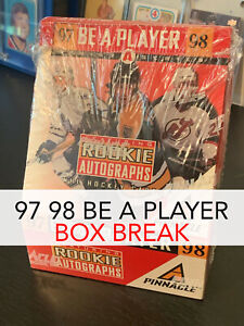 2-LEFT-BOX-BREAK-97-98-BE-A-PLAYER-16-AUTOS-RANDOM-TEAMS-FREE-Shipping