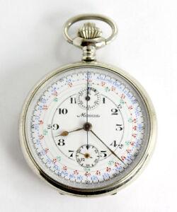 Klug Dodane Freres U-jagd Taschenuhr France Military Chronograph Antike Pocket Watch Schnelle Farbe