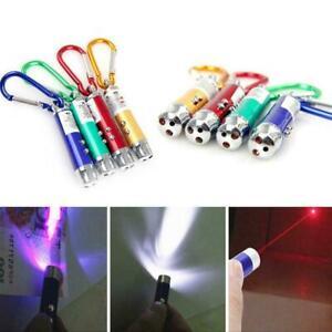 Haustier-Katzenspielzeug-LED-Laserpointer-Schluesselbund-Farbe-Katze-Zufaelli-N0I9