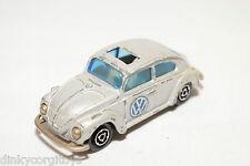 MAJORETTE 202 VW VOLKSWAGEN BEETLE KAFER 1302 METALLIC GREY EXCELLENT CONDITION