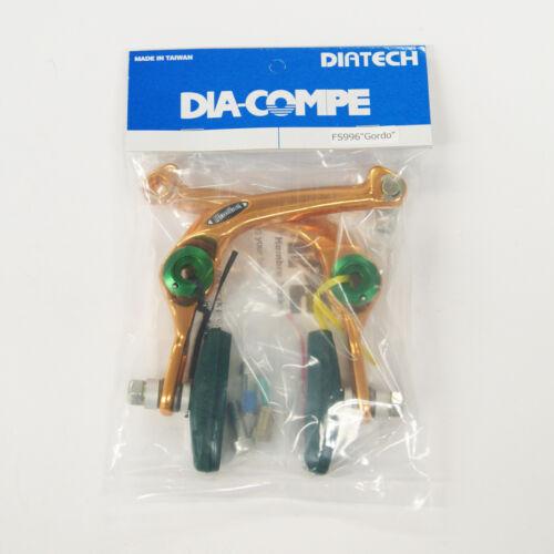 DIA-COMPE AD996 Gordo Gold Rear Brake for Freestyle BMX