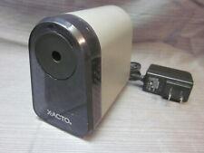 Elmers X Acto Model 195xx Electric Pencil Sharpener Grey