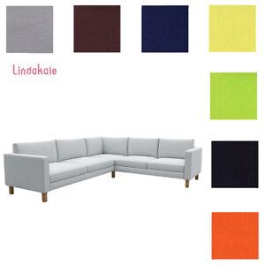 Custom-Made-Cover-Fits-IKEA-Karlstad-2-3-3-2-Corner-Sofa-Clearance