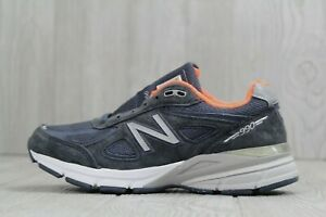 uk availability 3385a 2a061 Details about 32 New Balance 990v4 Navy Blue Sneakers Shoes W990NV4 Womens  Size 5.5 B