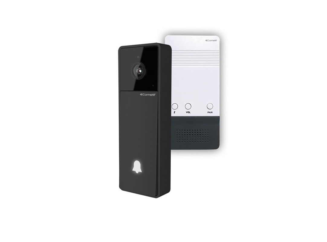 COMELIT KITVISTO C Wi-Fi Con AliHommestatore e  Campana