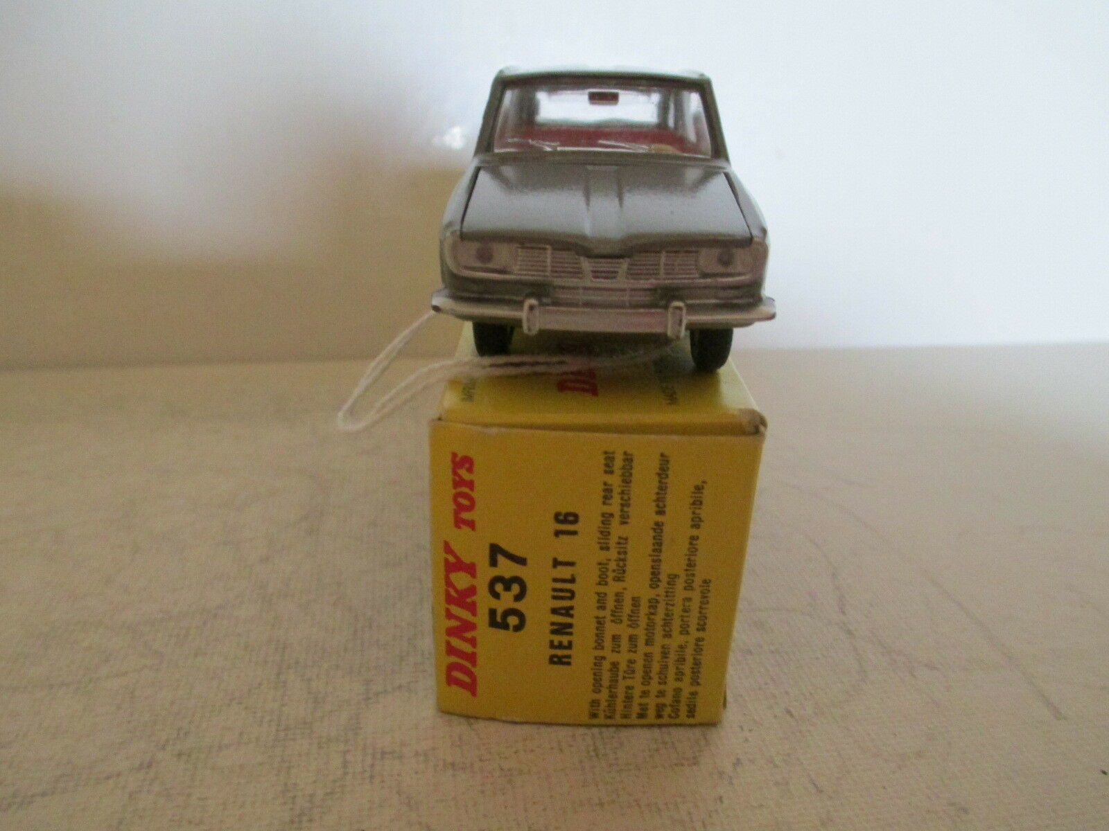 FRENCH FRENCH FRENCH DINKY 537 RENAULT 16 R16 MIB 9 EN BOITE VERY NICE L@@K 29f328
