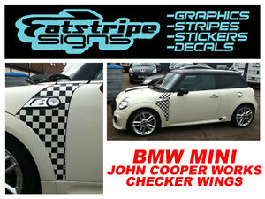 MINI-GRAPHICS-CAR-VINYL-STICKERS-DECALS-STRIPES-CHECKER-r56-r53-JCW-ONE-1-6