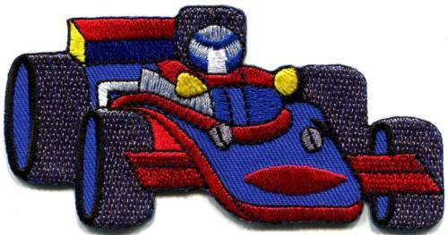 Voiture de sport racing course de Formule un brodé appliqué iron-on patch S-898