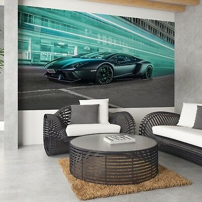 Wallpaper Fleece Photo Transport Car Dare Sports Lamborghini Aventador