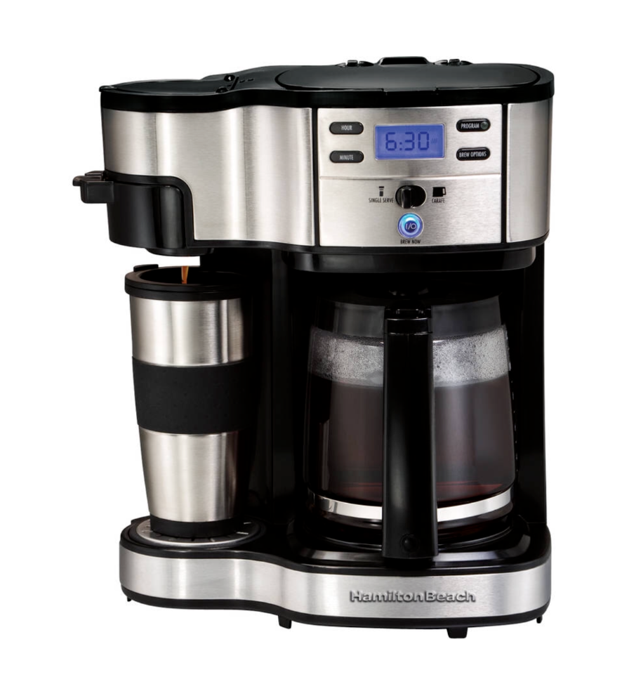 HAMILTON BEACH 2 Way Café Brewer Maker 12 Tasse 1 tasse choisir Résistance
