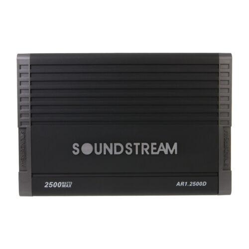 NEW Soundstream AR1.2500D 2500 Watts Mono Class D Subwoofer Amplifier BASS AMP