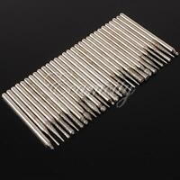 30pcs Diamond Burr Glass Drill Bits for Engraving Rotary Tool Set 3mm Shanks New