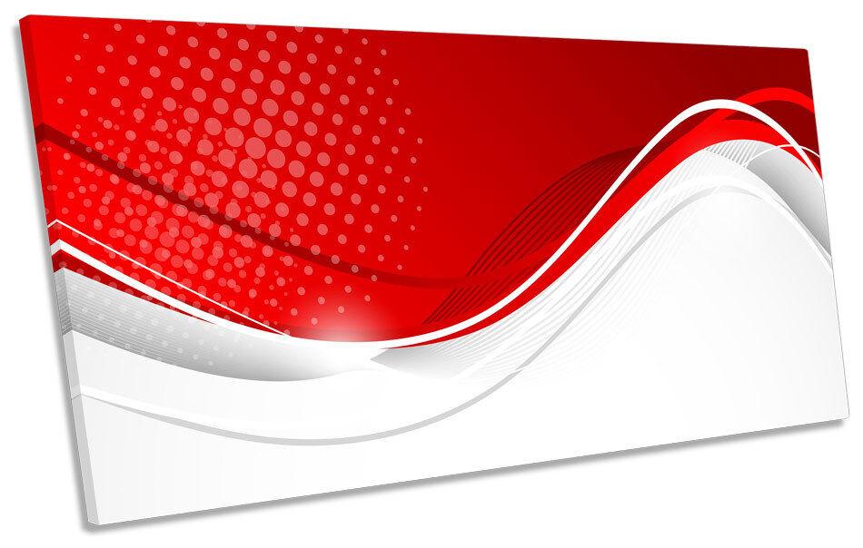 ONDA Astratto Design Panorama a muro arte foto stampa stampa stampa 29f34e