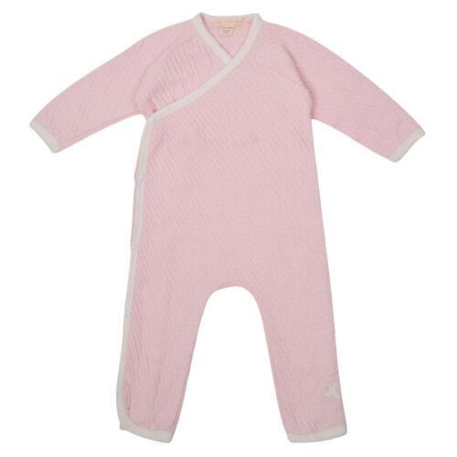 Bébé garçons filles combinaison en coton organique Quilted Kimono All in One NB-24M