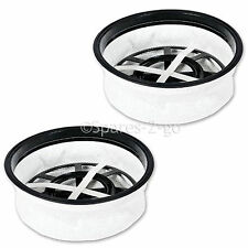 """2 X Henry Hetty James Numatic Vacuum Cleaner Hoover 12"""" Round Cloth Filter 305mm"""