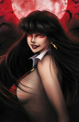VAMPIRELLA 1 TIM SALE EXCLUSIVE VIRGIN VARIANT 50TH ANNIVERSARY