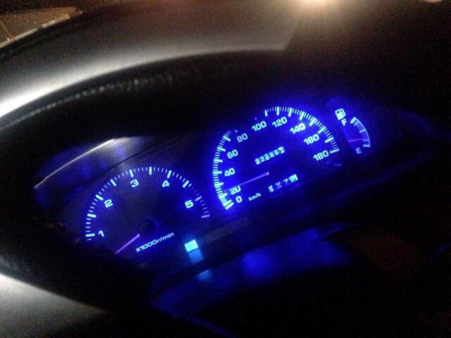 Toyota Hilux 1997-2004 Dash  instrument Cluster Kit Blue LED