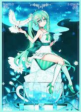 (60)MTG Wow Yugioh TCG Anime Vocaloid Hatsune Miku  Card Sleeves