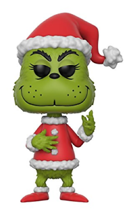 "FUNKO POP 21745 /""The Grinch in Santa Outfit/"" Vinyl Toy"