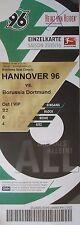 VIP TICKET 2015/16 Hannover 96 - Borussia Dortmund