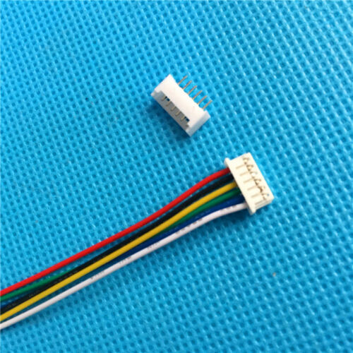10 Sets JST 1.25mm 6-Pin Female Housing Connector with Wire and Male Connector