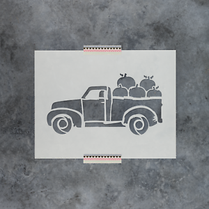 Thanksgiving Truck Stencil Durable /& Reusable Mylar Stencils