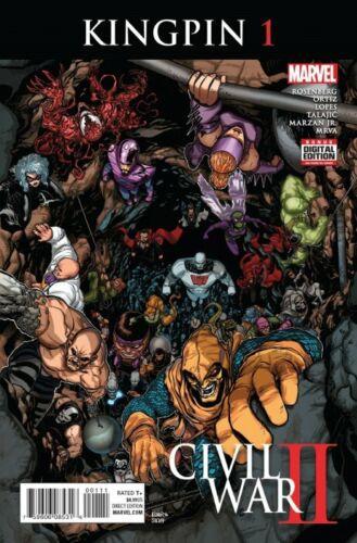 Marvel Comics Civil War II Kingpin #1 2016 VF+//NM  FREE COMBINED SHIP