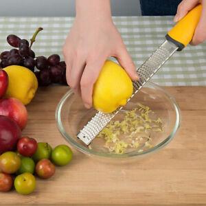 Stainless Steel Grater Nutmeg Spice Lemon Citrus Orange Zester Cheese Ginger
