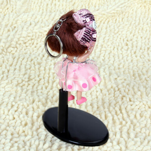 1//6 Doll Stand Display Holder Stent Support for Doll Bears Accs Black 10.5cm
